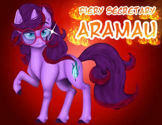 Aramau the Fiery Secretary by Fuyuko-Yuki