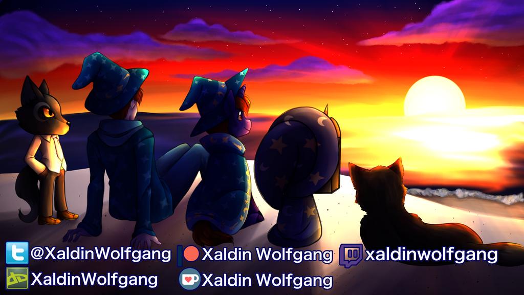 XaldinWolfGang End Card by Fuyuko-Yuki