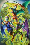 Fury Sisters by EerieAyres