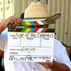 On set of Eye of The Empress web series on Youtube by creativesnatcher69