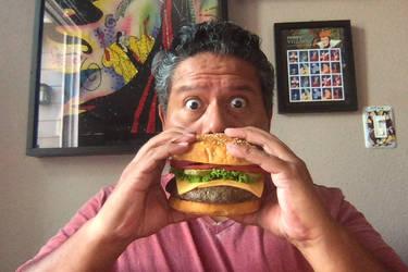 Not a real burger by creativesnatcher69