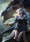 Dragon Lady by warthawijit