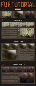 Fur tutorial (eng/rus) by hi-shiro