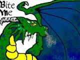 Bite Me dragon by Yappingjackal