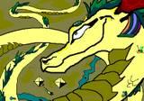 Egyptian dragon by Yappingjackal