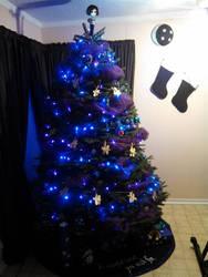 Coraline Themed Christmas Tree
