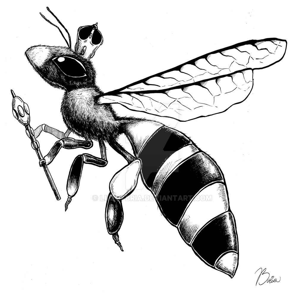 Queen Bee by LifeofBria on DeviantArt