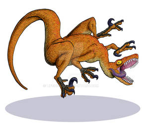 Dinosaur Trading Cards - Velociraptor