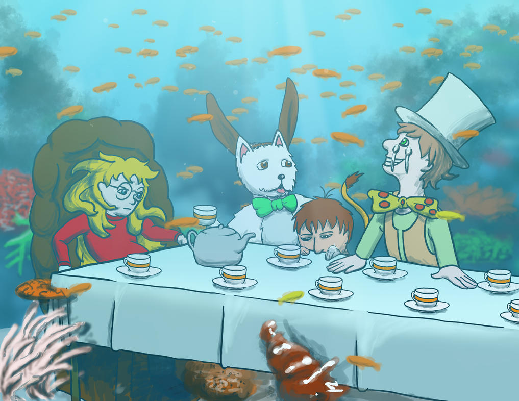 Mad Frg's Underwater Tea Party by 1o11y9o9