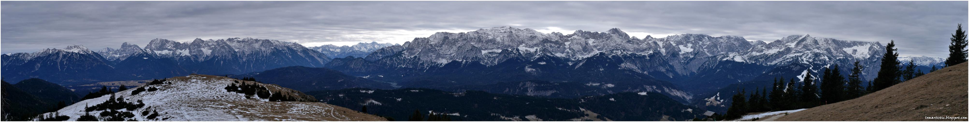 Bavarian mountains