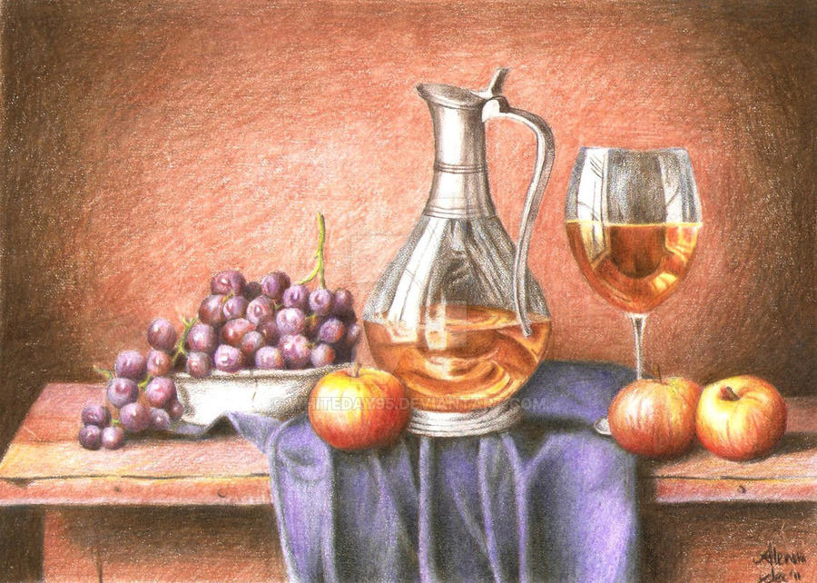 Still Life Painting by whiteday95
