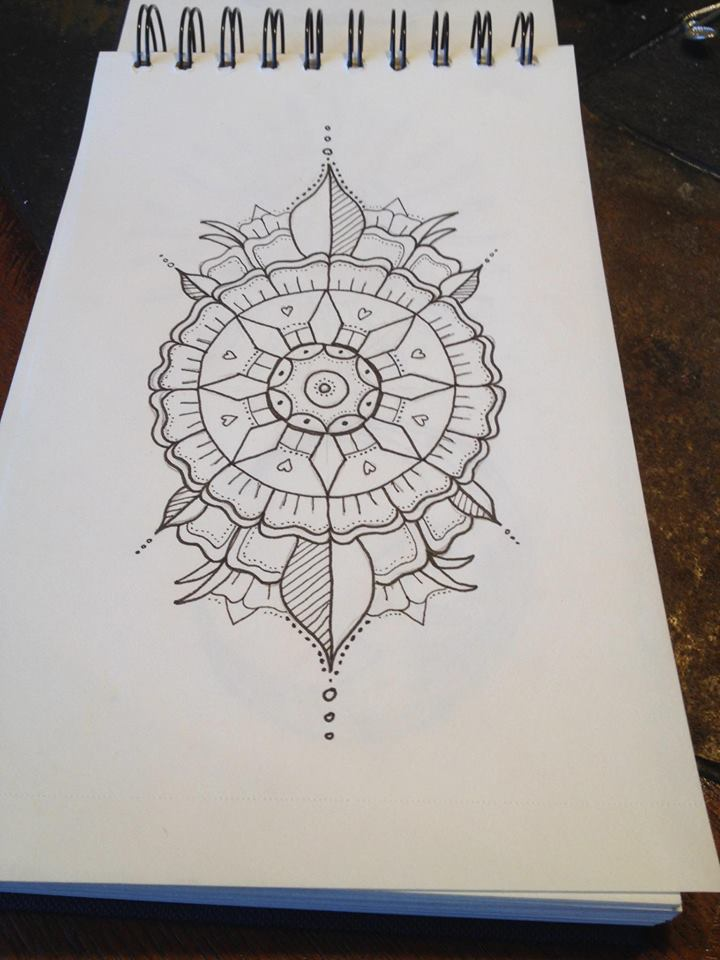 zentangle tattoo design by doodlekin on deviantart. Black Bedroom Furniture Sets. Home Design Ideas