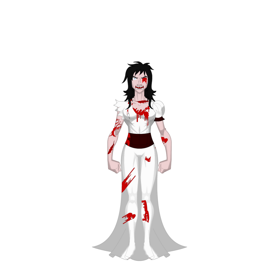 White Phantom Villain: Bloody Mary by AmaletzTheShark on DeviantArt