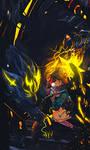 CALL ON ME Photoshop Signature Speed Art by KaitoKiD7