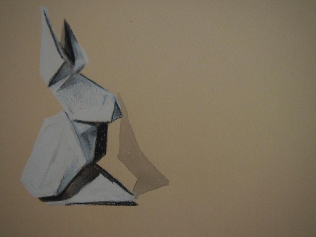 Origami Rabbit Drawing By Ellaclawley