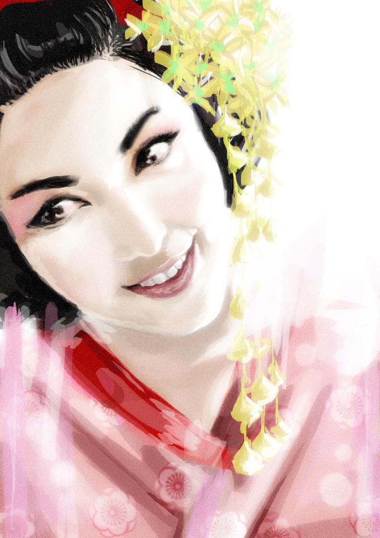 geisha by isaac-laforete