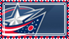 x_. C.Blue Jackets Stamp ._x by Breeto