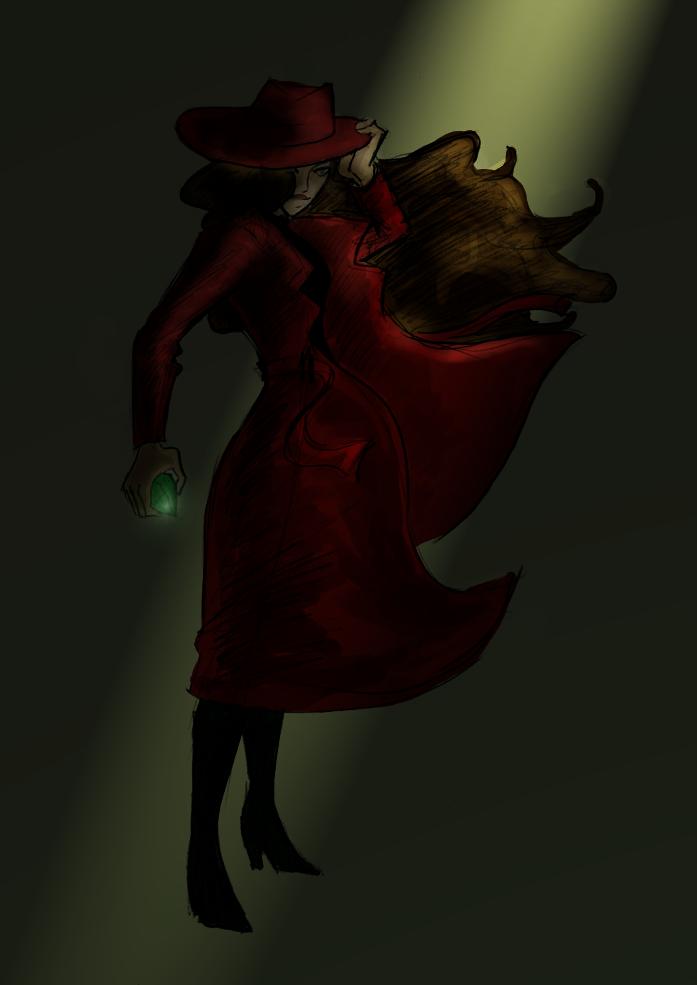 Carmen Sandiego by kestinstewart