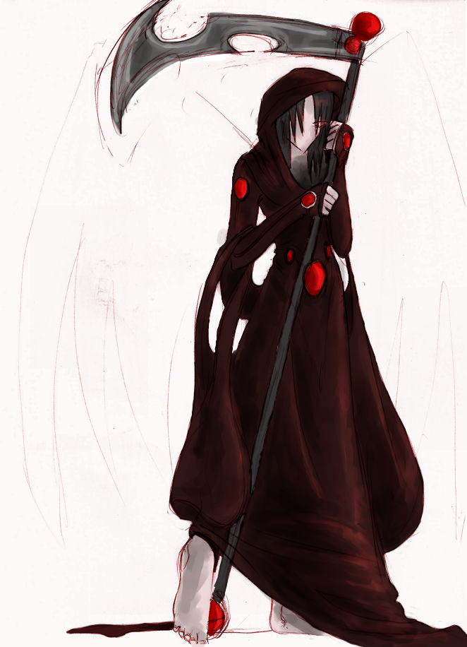 The Grim Reaper+Coloured by kestinstewart
