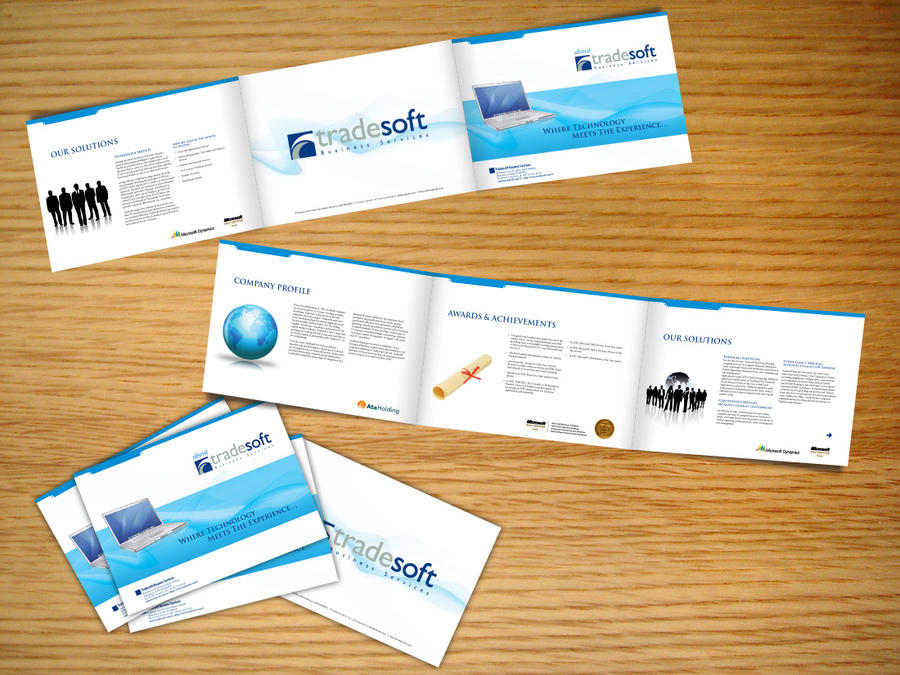 TradeSoft Company Booklet by YalcinE on DeviantArt