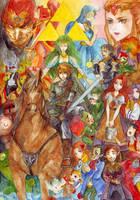 The Legend of Zelda by maiyue