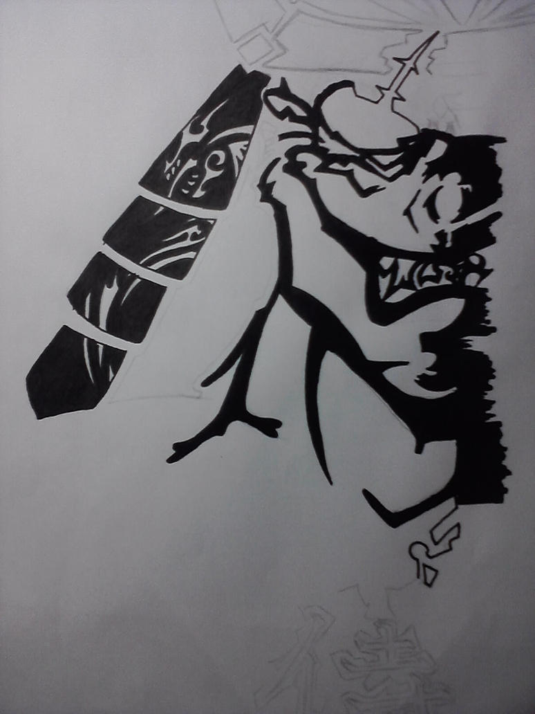 Samurai Tattoo by quakesshakes