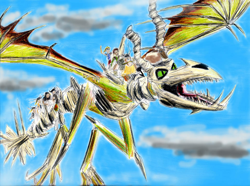 The BoneKnapper Dragon By Taipu556