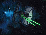 First Order Spec Forces Tie Fighter