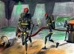 Firefighter Battle Droids by Taipu556