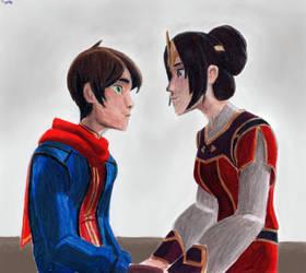 Callum and Sarai by Taipu556