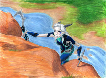 Rayla another mountain to climb by Taipu556