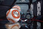 BB-8 vs. BB-9E