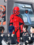 First Order Cadets 5- Captain Cardinal by Taipu556