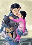 Ursa and her baby Sabine by Taipu556
