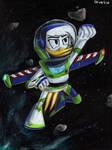 Space Ranger Della Duck by Taipu556