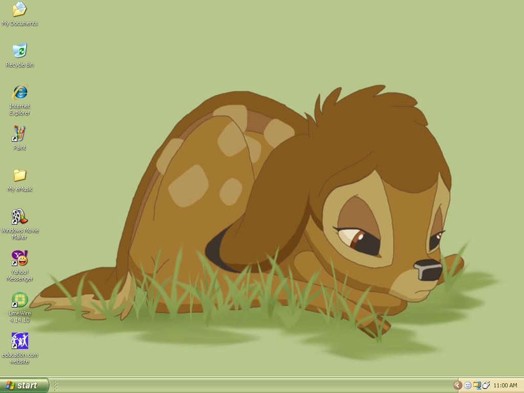 Bambi Desktop by yugiismyname on DeviantArt Sad Animal Face