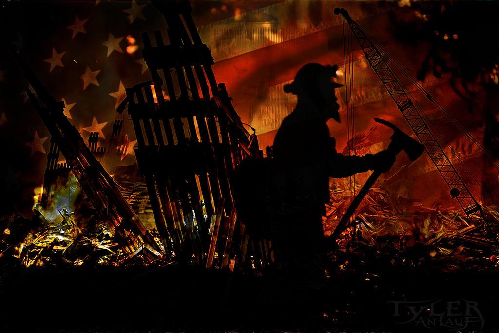 Tribute to 9-11 Ground Zero by texler