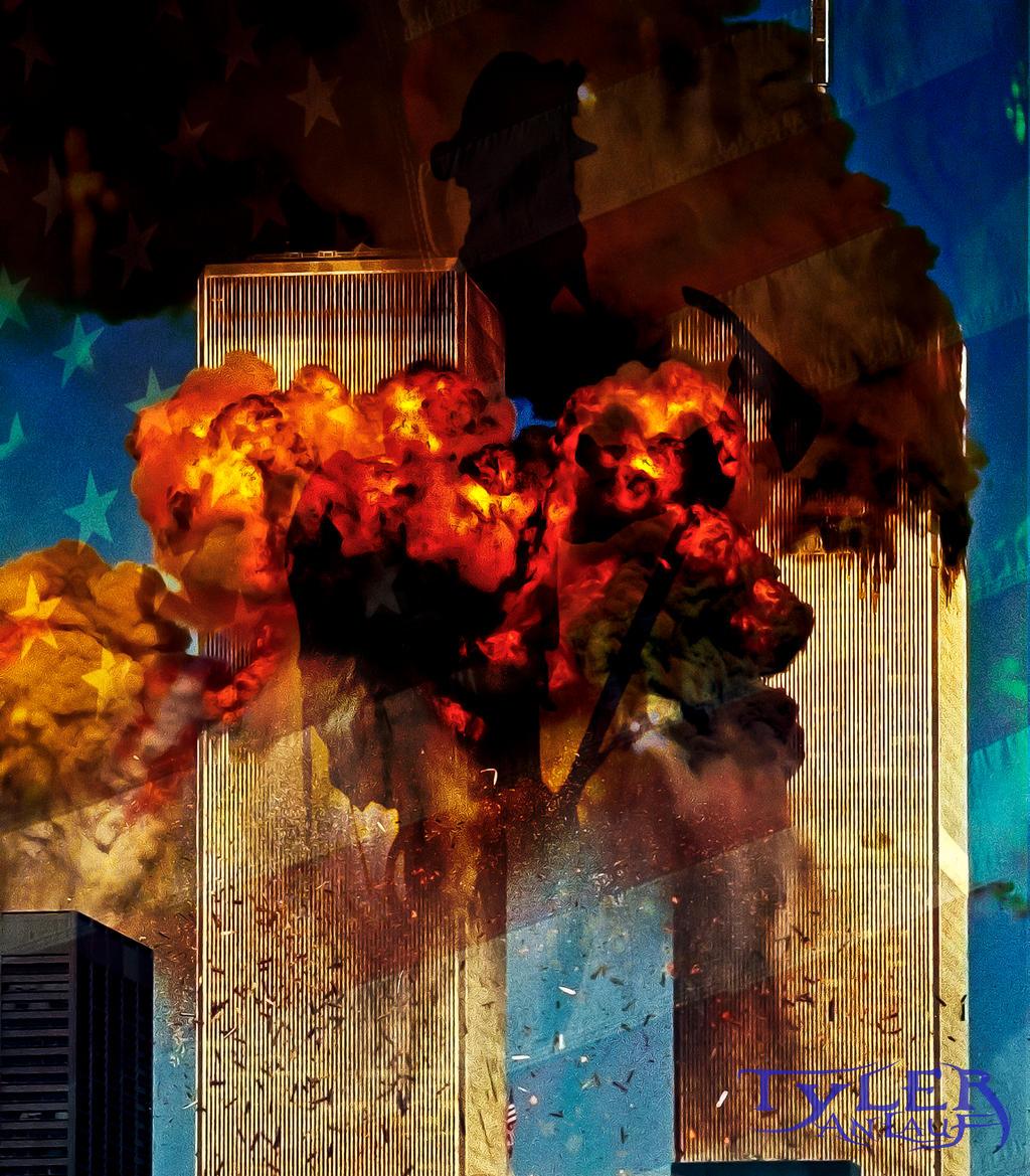 Devils Face in Smoke 911  Christian Media