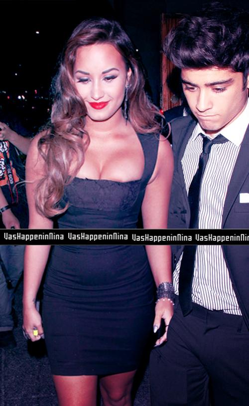 Zayn Malik With Demi Lovato Demi Lovato ~ Z...
