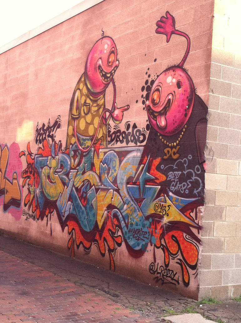 Graffiti in Erie 4 by AnaturalBeauty