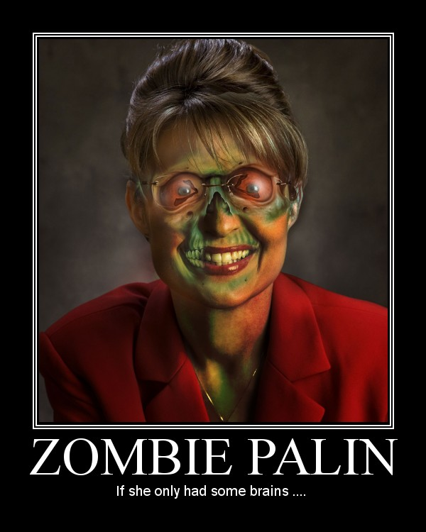Zombie Palin by aotocki