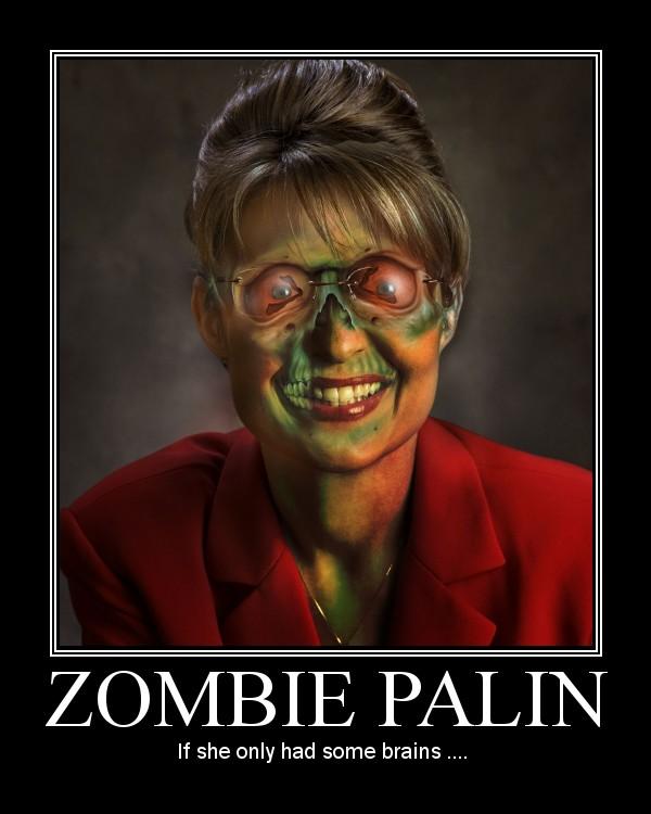 Zombie Palin by aotocki