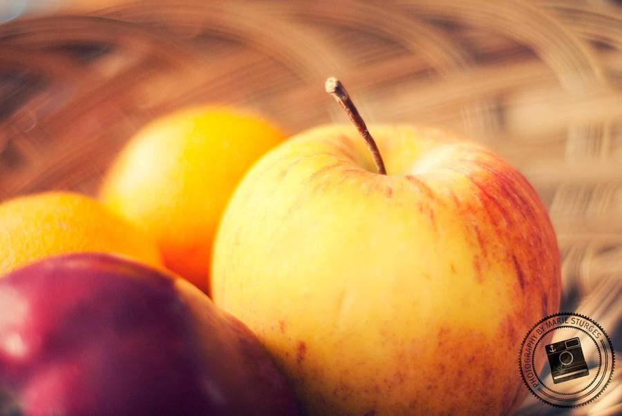 Gala Apple by mariesturges