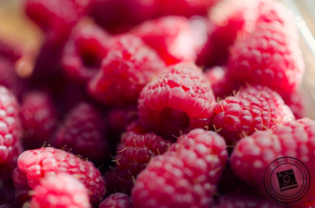 Raspberries by mariesturges