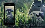 Totoro   Wallpaper for iPhone, iPad, and Desktop
