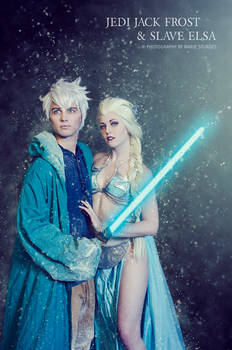 Jedi Jack Frost and Slave Elsa