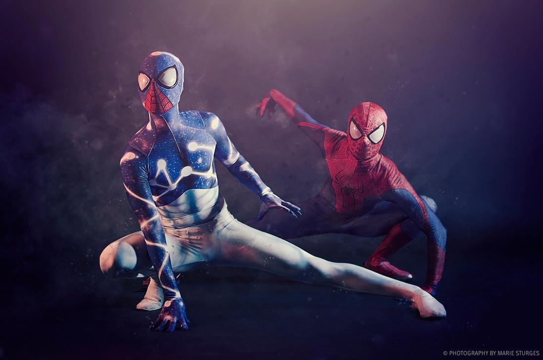Cosmic spider man - photo#11