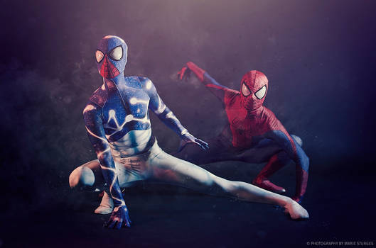 Cosmic Spider-Man and the Amazing Spider-Man