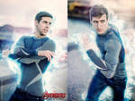 The Avengers: Age of Ultron - Quicksilver by mariesturges