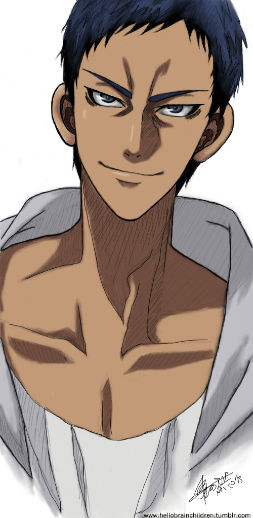 Aomine Daiki by dewlashes